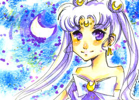 Shoujo Card - Queen Serenity by Lahara
