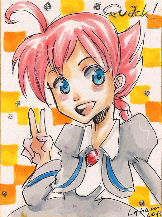 Shoujo Card - Ahiru by Lahara
