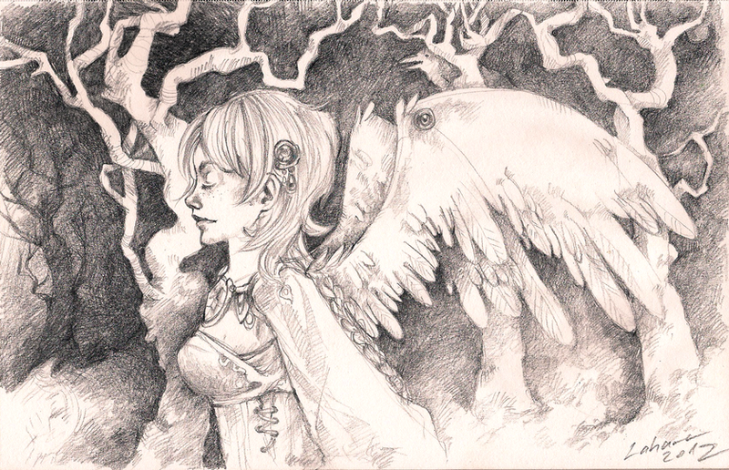 Forest Heddwch by Lahara