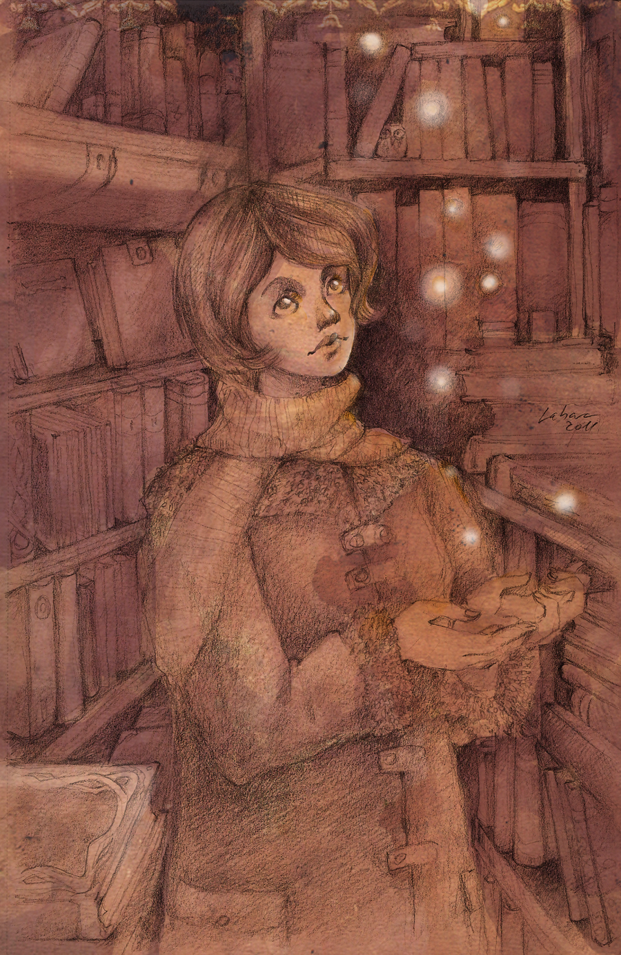 Bookshop Magic by Lahara