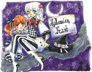 Hallowe'en Feast by Lahara