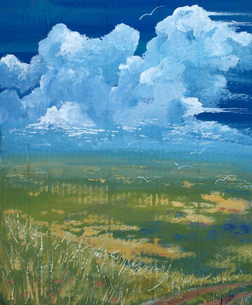 Aleand Steppe by Lahara
