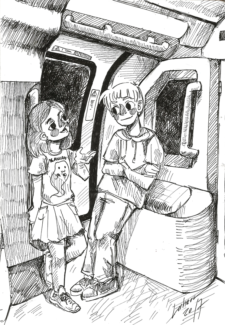 17inktober 10 - Public Transport by Lahara