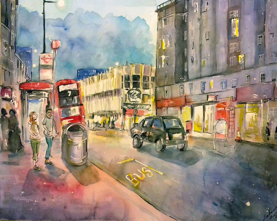 Edgware Road by Lahara