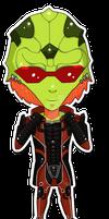 Mass Effect Chibis: Thane Alt.