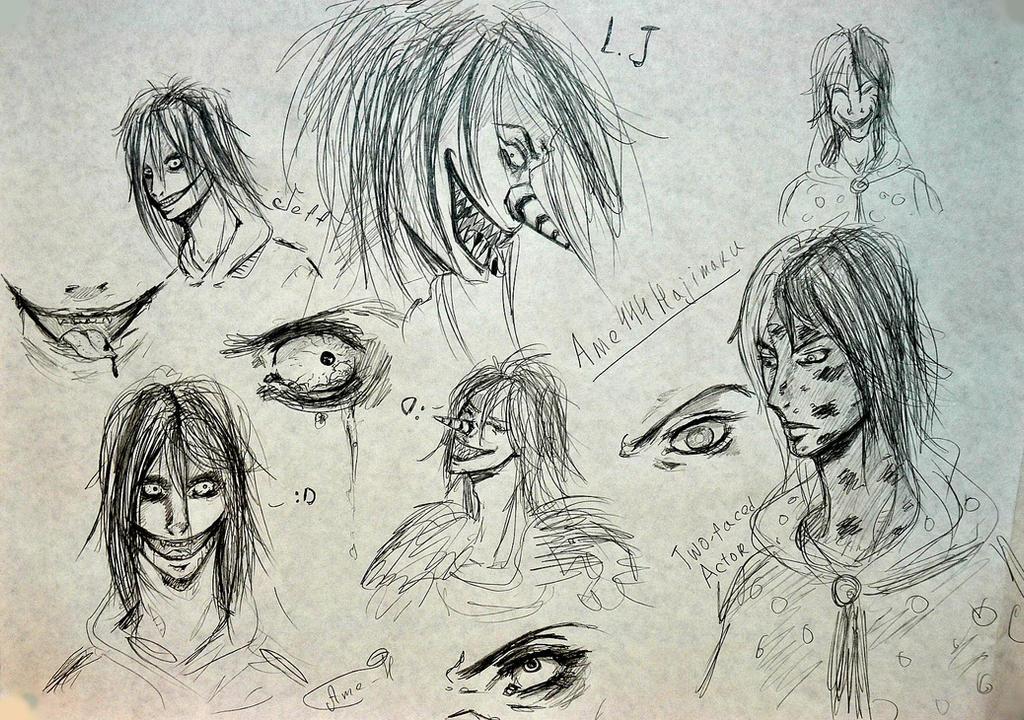 sketch by Ame444Hajimaru