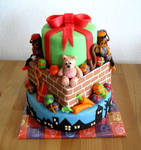 Dutch Holidays cake by Naera