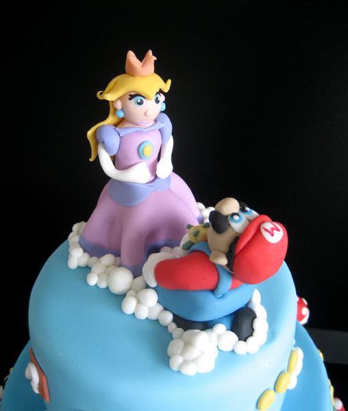 Mario And Peach Cake Topper By Naera On DeviantArt