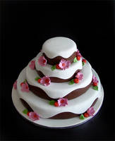 Chocolate Weddingcake by Naera