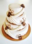 Bronze Weddingcake