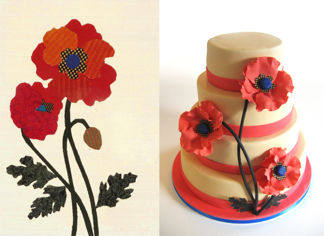 Vintage Poppy by Naera