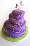 Whimsical Weddingcake