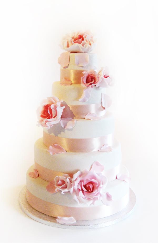5 tier wedding cake by Naera on DeviantArt
