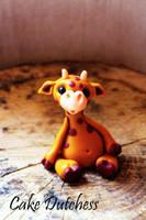 Fondant Giraffe - Free Tutorial by Naera