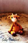 Fondant Giraffe - Free Tutorial