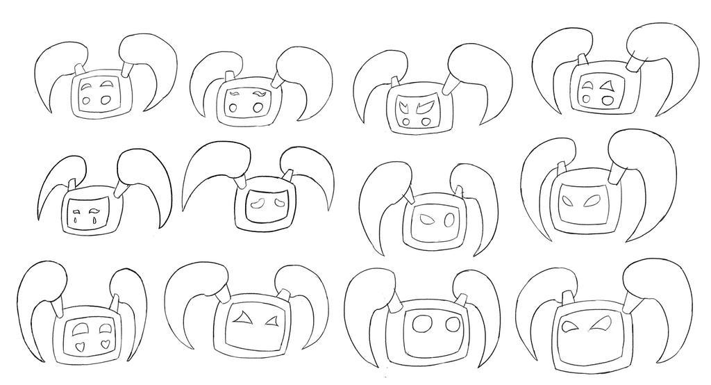 SAN-10 Expression Sheet by KombatMaster94
