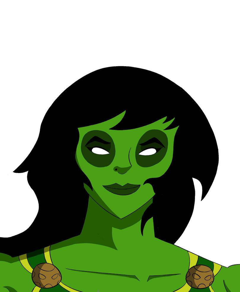 Gamora Headshot by RobertMisirian