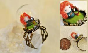 Chibi Merida Miniature Ring