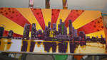 sunset_skyline_preview by jois85
