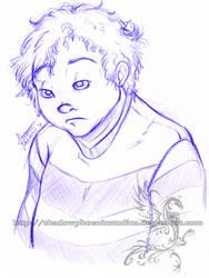 Freebie Sketch - Kendle by ShadowPhoenixStudios