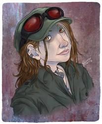 Portrait of Janeen by ShadowPhoenixStudios