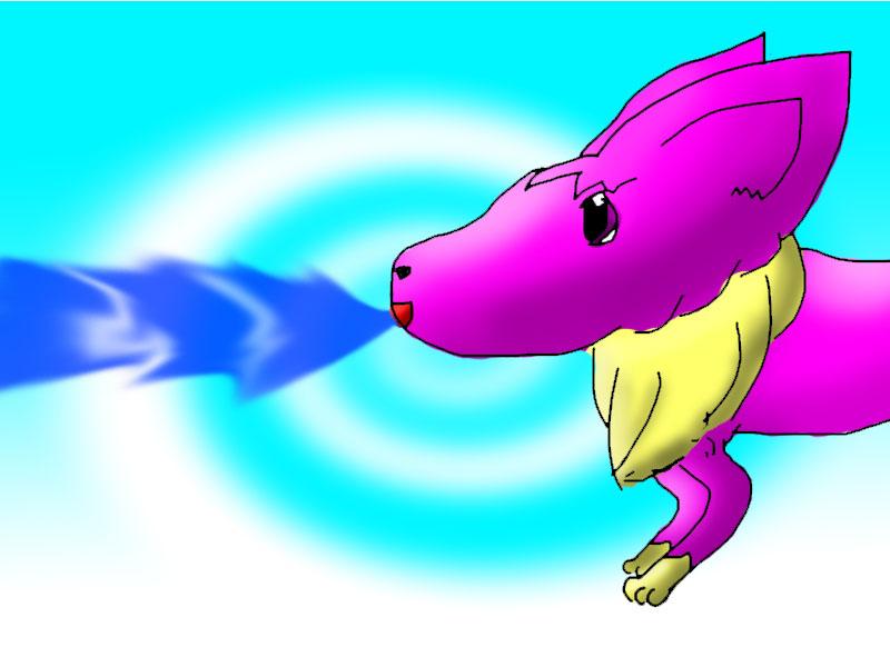 Foxy-pistola agua.Concurso by Foxymon