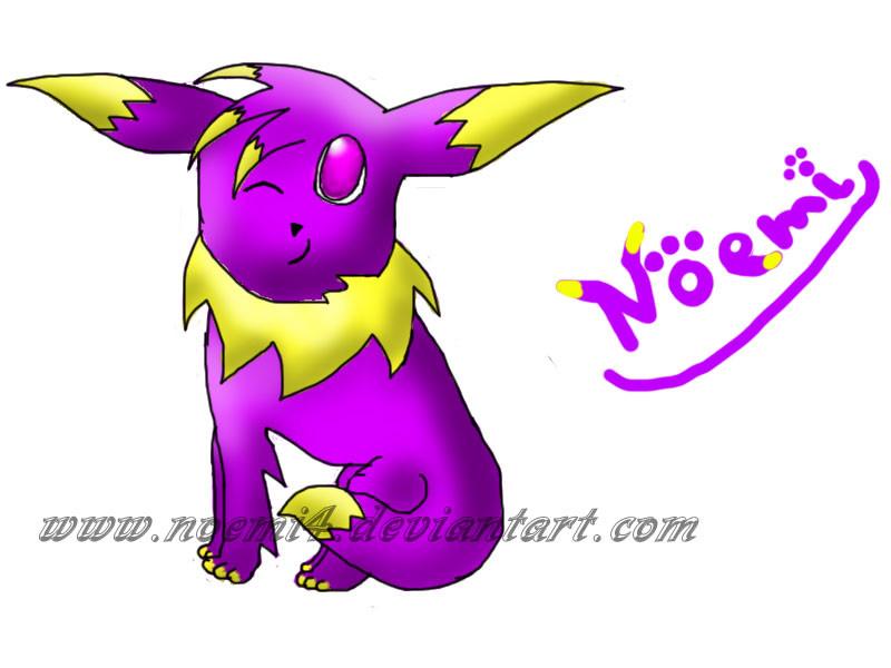My pokesona:Noemi by Foxymon