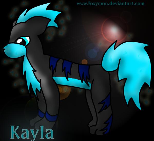 Kayla-My growlithe by Foxymon