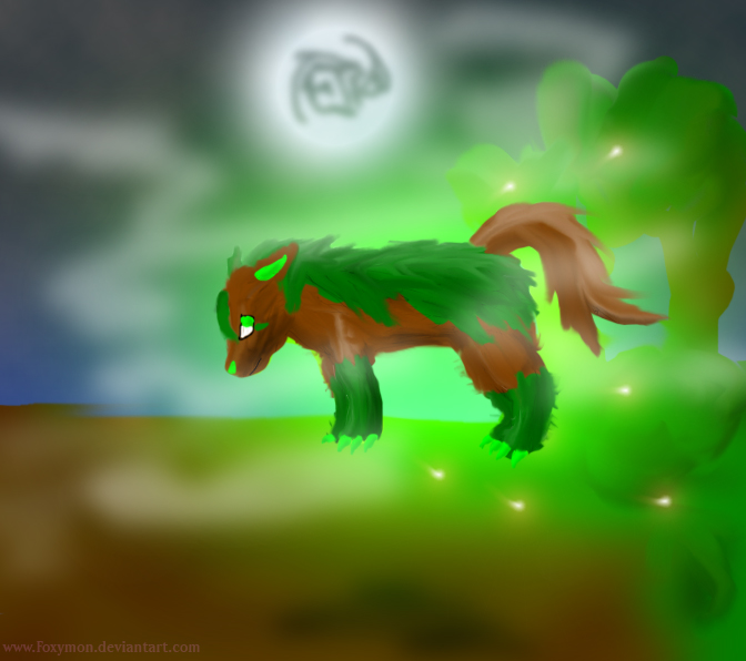 Terra the Mightyena by Foxymon