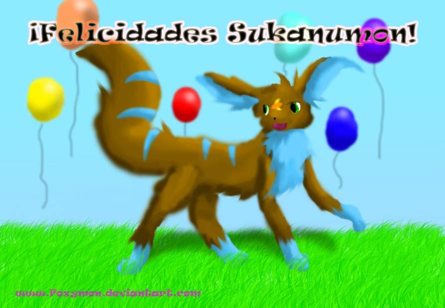 Felicidades Sukanumon 2010 by Foxymon