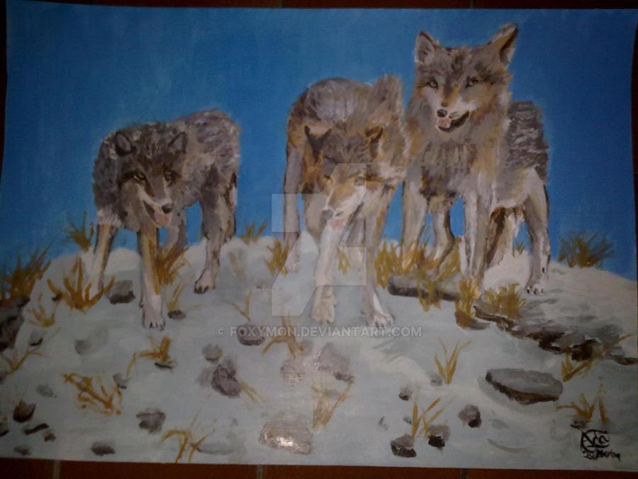 Wolves by Foxymon