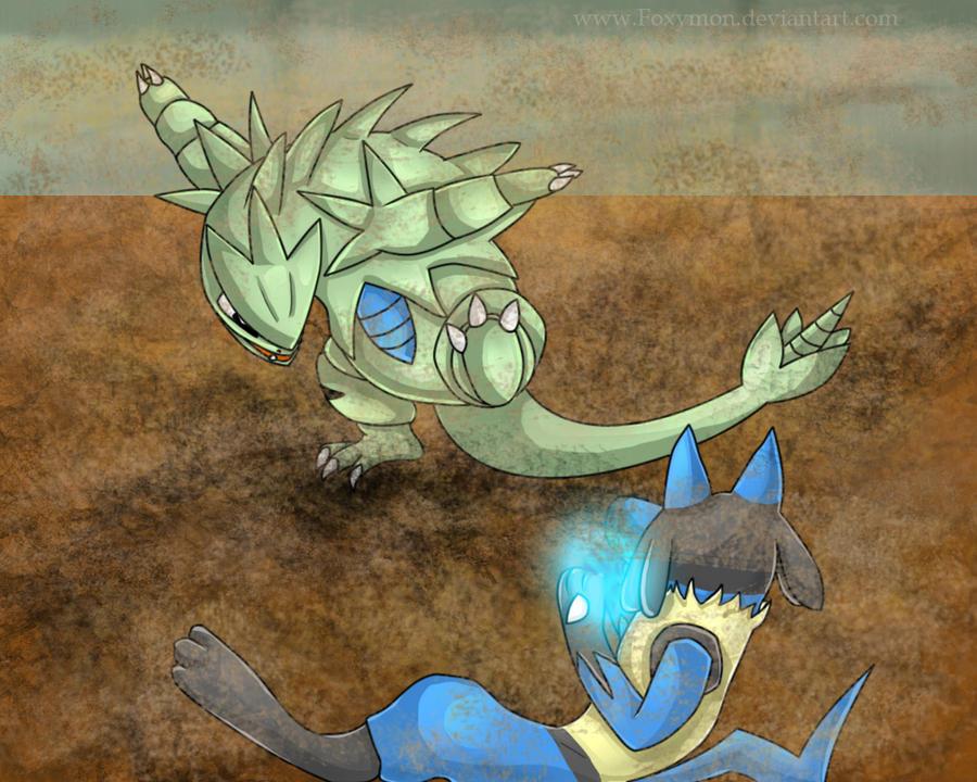 Pokemon Tournament Final Round by Foxymon