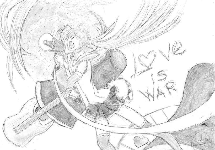 Love is war by Foxymon