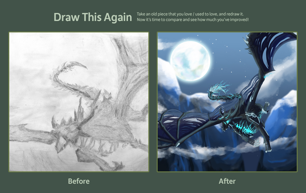 Draw This Again Contest by Foxymon