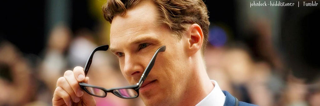 Benedict Cumberbatch Twitter Header by MoniiQuita