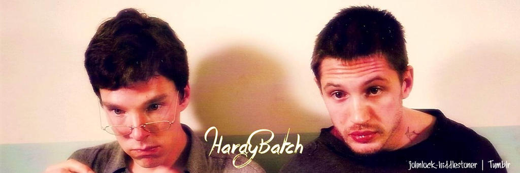 hardybarch Tom Hardy + Benedict Cumberbatch by MoniiQuita