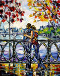 On The Paris Bridge