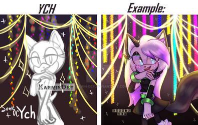 Sonic YCH #1 OPEN by Karmin-Dey