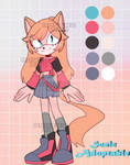 Sonic flat Adopt auction #21 CLOSE by Karmin-Dey