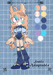 Sonic flat Adopts auction #43 OPEN by Karmin-Dey