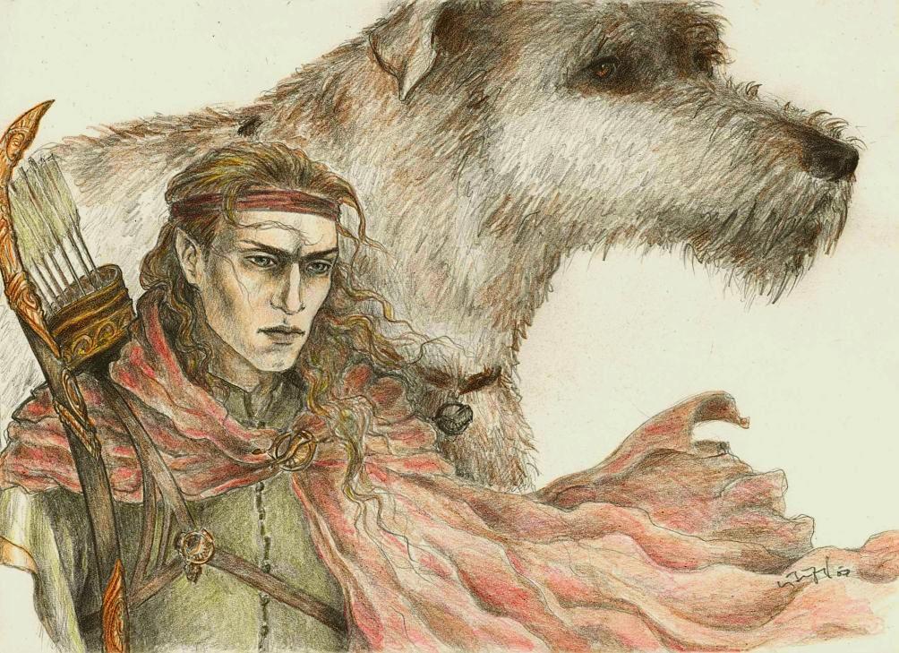 Feanorians - Celegorm by Meisiluosi