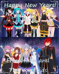 Happy New Year! by Rainstar11