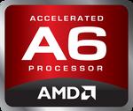 (Original Logo) AMD Accelerated A6 Processor