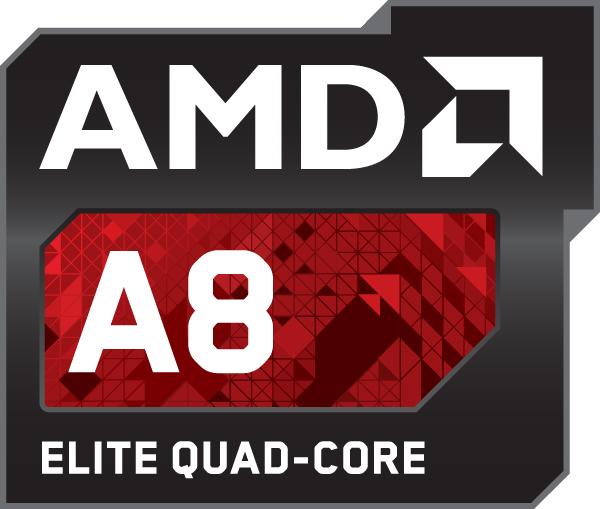 Original Logo) AMD Accelerated A8 Processor ELITE by 18cjoj on ...