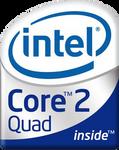 (Original Logo)(v.2) Intel Inside Core 2 Quad