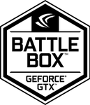 (Original Logo) NVIDIA GEFORCE GTX Battlebox Badge