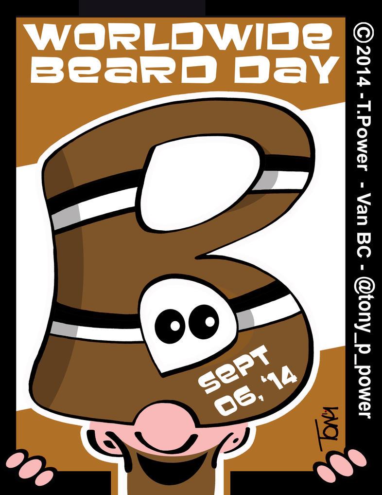 Beard Day@tony p power by tony-p-power