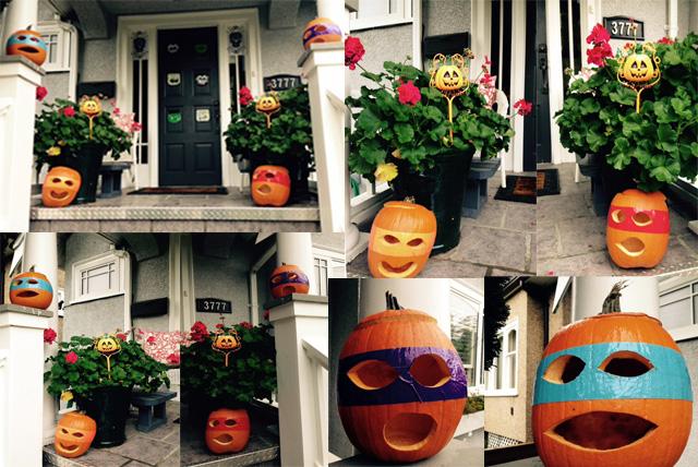 ToNy TMNT Power  Pumpkins by tony-p-power