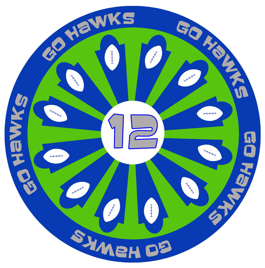 Go Hawks Go 12  by tony-p-power