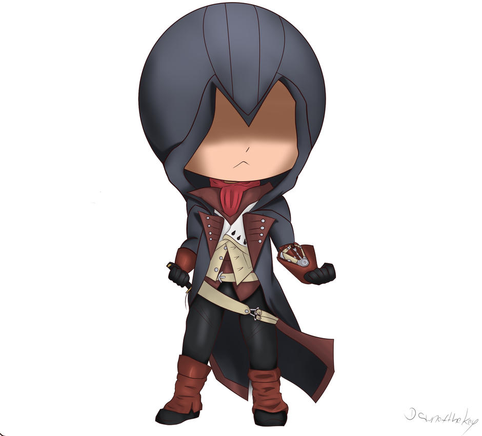Assassins Creed Unity - Arno Chibi by DawnoftheKey on ...